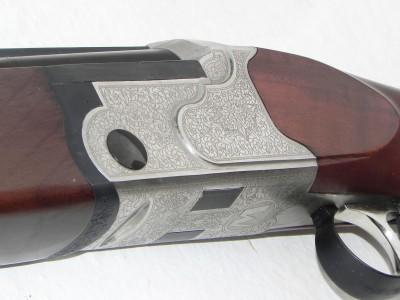 Mossberg Silver Reserve II, shotgun engraving