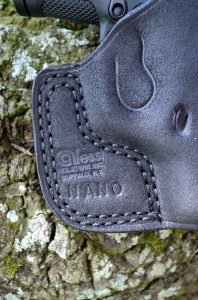 I appreciate the rugged simplicity of this Alessi pocket holster (www.alessigunholsters.com).  A minimalist pocket gun deserves a minimalist holster.