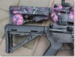 His & Hers Designer Colt AR-15s – Carbon Fiber & Muddy Girl