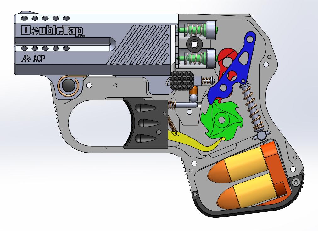 DoubleTap Defense .45ACP Pocket Derringer – New Gun Review