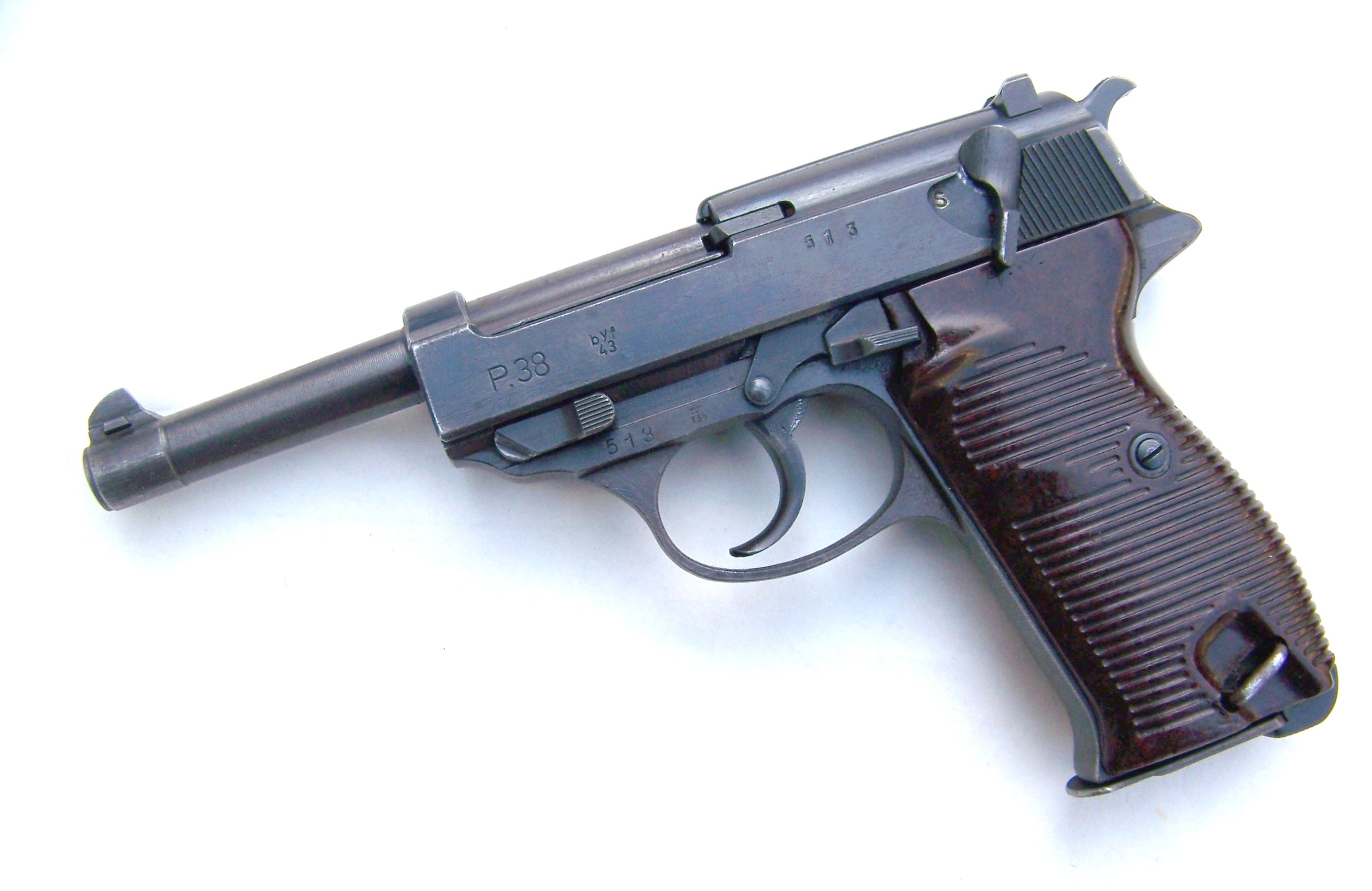 The Walther P 38, a Very Important War Dog