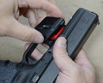 Crimson Trace – $129 Defender Series Laser for Glock/XD/LCP/S&W – Video Review by Justin Opinion