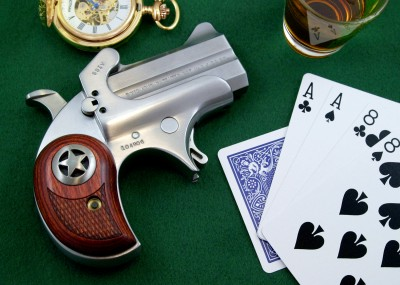The Bond Arms derringer is a thoroughly modern adaptation of a firearm classic.