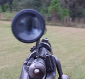 Oswald's rifle scope