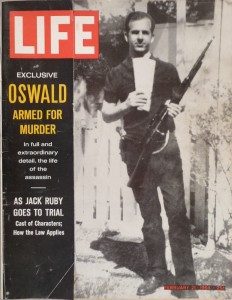 This backyard picture of Oswald with the Carcano and his 38 on the hip has been the spawn of much speculation as to whether it is a real or composite.