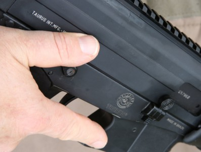 My solution is to keep the gun at the ready with the thumb out of the grip and riding on the strong side safety lever.