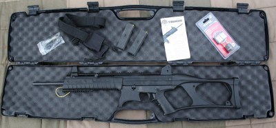 The CT9 comes with a hard case, two 10 round magazines and a really nice sling.