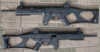 The Taurus CT9 and CT40 are pistol-caliber carbines made a lot like the H&K USC, which was actually a .45ACP. No word yet on if we'll see a CT45, but we got to test the CT9 and it was both reliable and accurate.