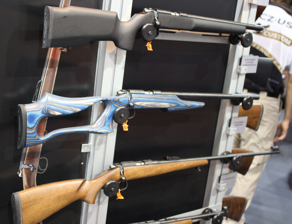 CZ-USA's Western Series Rifles—Rugged, Dependable Tack Drivers for Your Favorite Hunts—SHOT Show 2014
