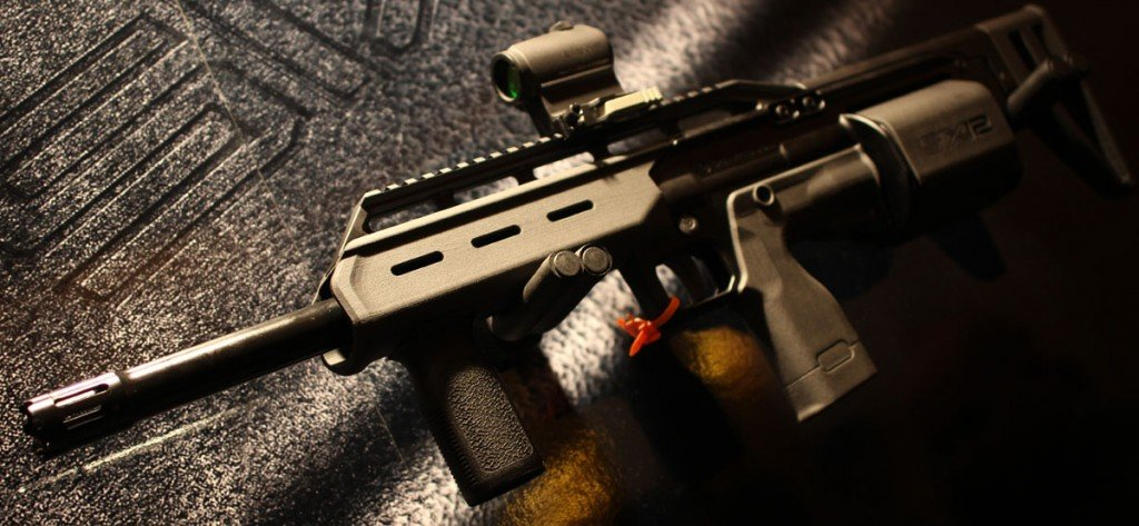 In the stand alone configuration, SHOT Show 2014.