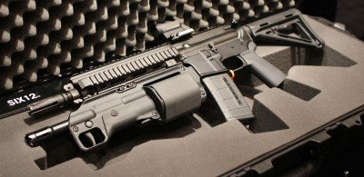 Crye Precision's Six12: A Bullpup Revolving Shotgun?—SHOT Show 2014
