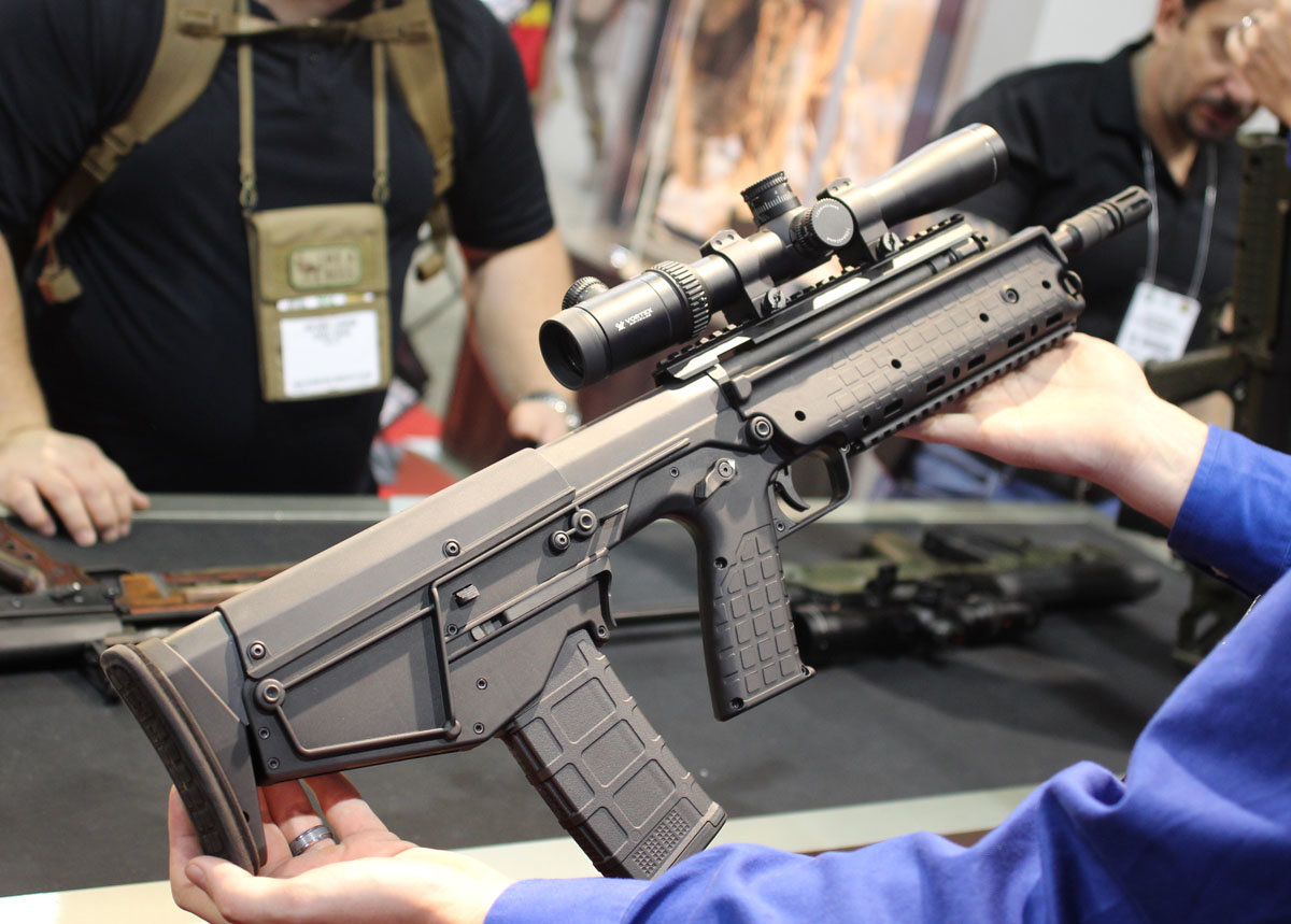 kel tec has something very special for bullpup fans two unique gun