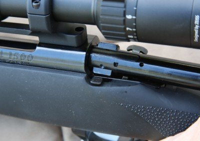 The bolt on the Howa is a two-bolt design. It clocks on bolt open.