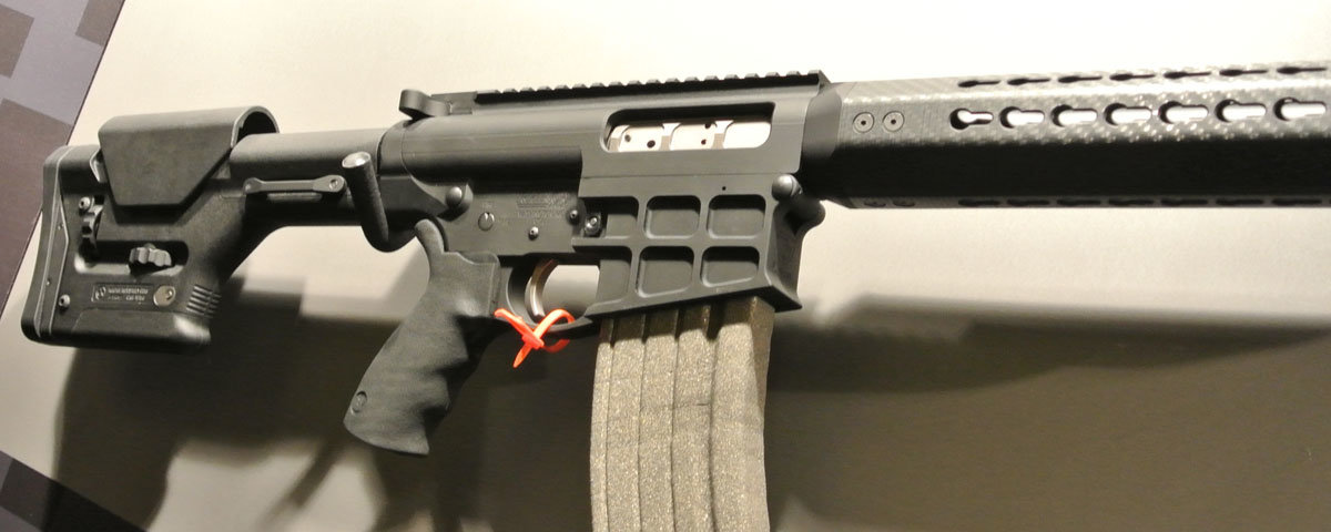 Rhino Arms: An AR Shotgun That Uses Regular 12 Gauge Ammo—SHOT Show 2014 - GunsAmerica Digest