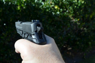 The P227 has a marginally larger grip circumference, but doesn't really feel any larger in practical use.