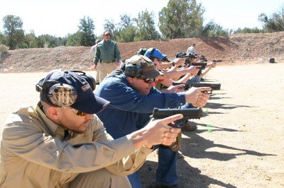 The program at Gunsite is based on the concept of the 'flash sight picture.'