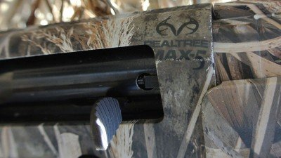 The Max-5 pattern is only offered by Mossberg on the Duck Commander guns.