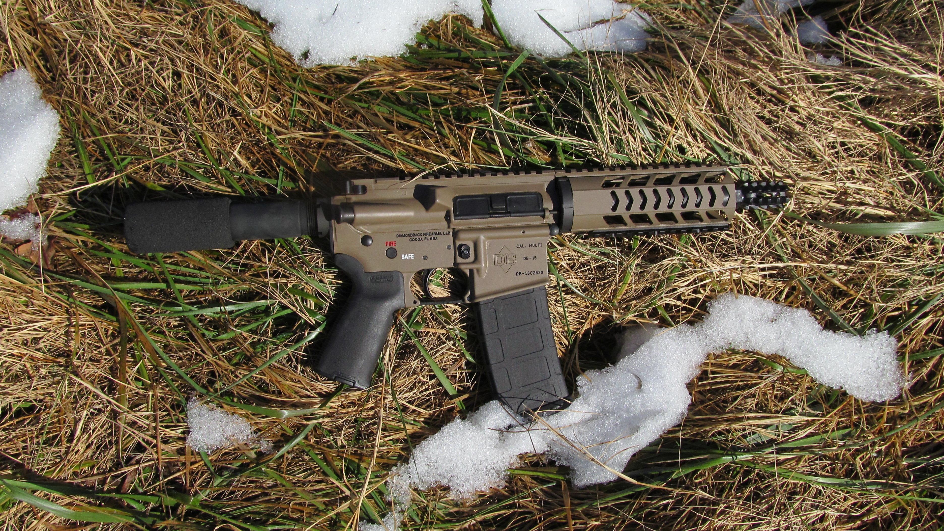 Diamondback Firearms DB15 Pistol – New Gun Review