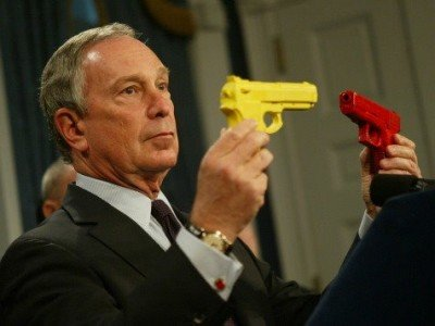 Former New York City mayor Michael Bloomberg and ardent pro-gun control supporter.  (Photo: AP)