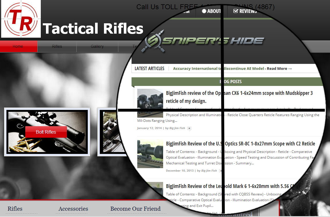 TacticalRifles.net Sues The Snipers Hide – The Truth About Internet Bullies