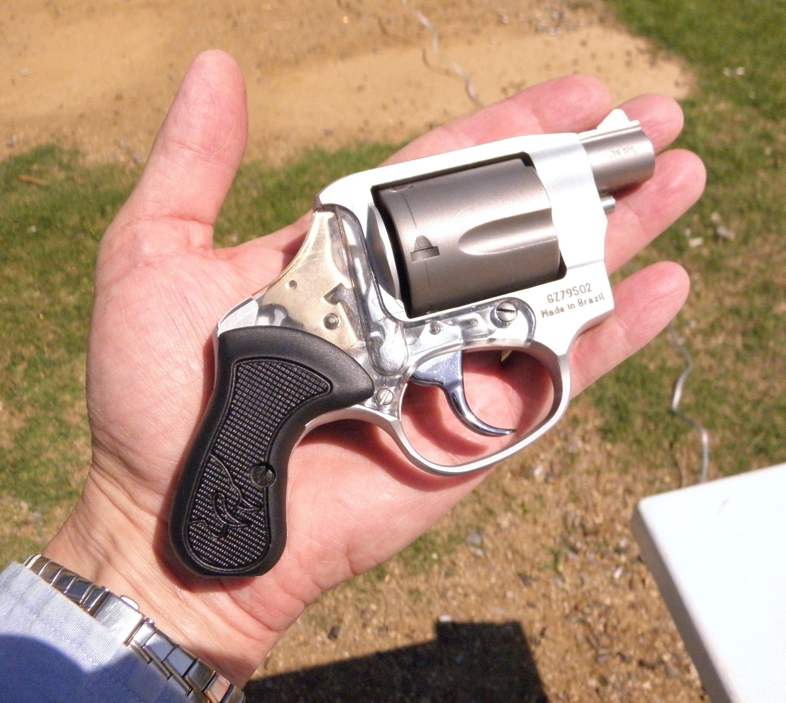 Taurus View - Light, Pocketable Titanium & Lexan Revolver —New Gun