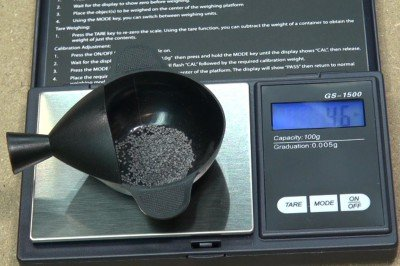 Digital scales are inexpensive, accurate, and simple to use.