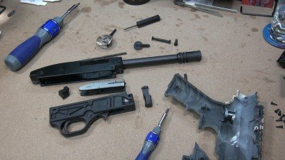 Disassembly and reassembly for cleaning is a major task and requires a number of tools.