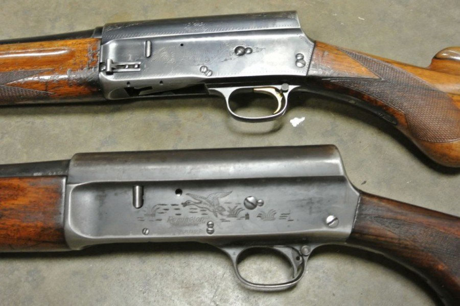 John Moses Browning's Old School Humpback Auto 5s