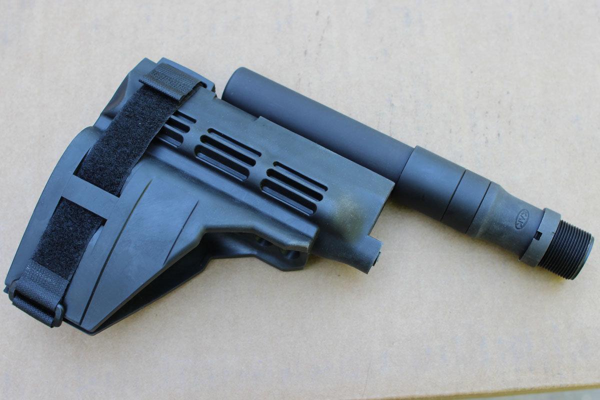 Sig AR-Pistol Arm Brace - KAK Super Sig Buffer Tube, the