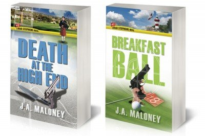 If the cover of Breakfast Ball caused problems, the cover of Death at the High End is likely to incite riots.