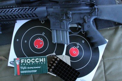 """Just as a comparison, Fiocchi 55gr. range ammo came in around 2"""" or a little more.  This is why people buy premium ammo for competition and hunting."""