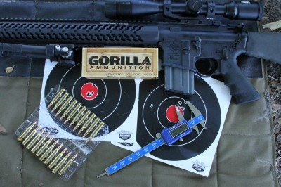 """The Gorilla ammo outperformed all of the other brands by a substantial margin in competition terms. Generally the entire group landed within 1"""" at 100 yards."""