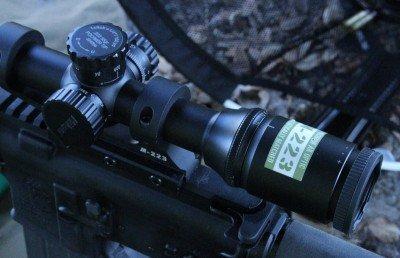 Our test scope is a Nikon 223 on a Nikon single piece mount, set at 12x.