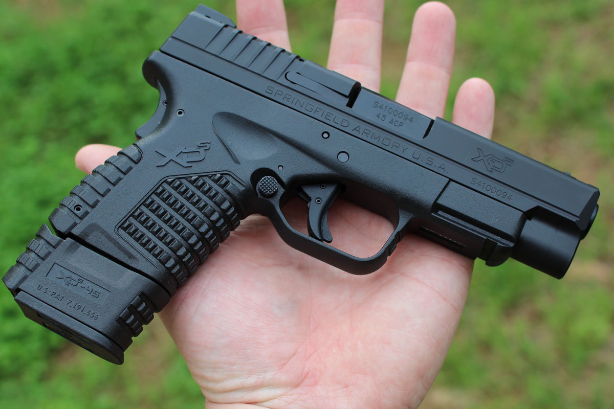 Springfield Armory Xd S 40 In 45even Better For Concealed Carry
