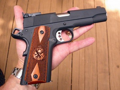 This is a full-size 1911 with a lot of premium features.