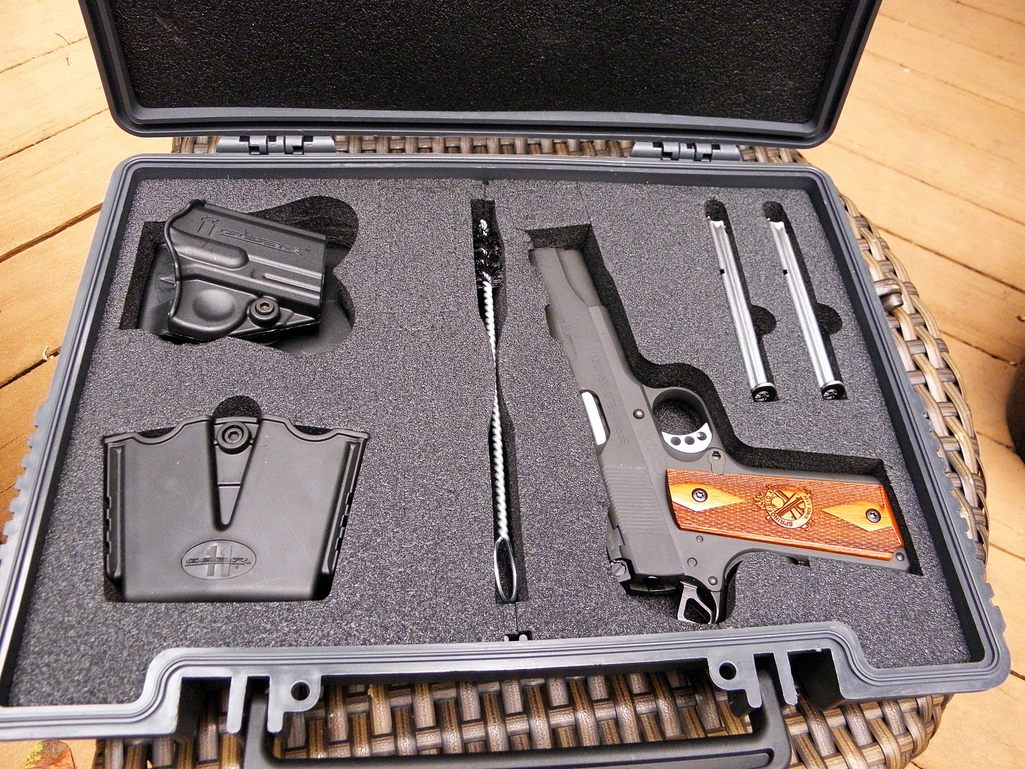 Springfield Armory 1911 Range Officer—SA does it again, this