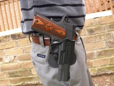 """At 5'8"""" and 155 pounds, I'm not very big, but I can still carry concealed under a covering garment."""