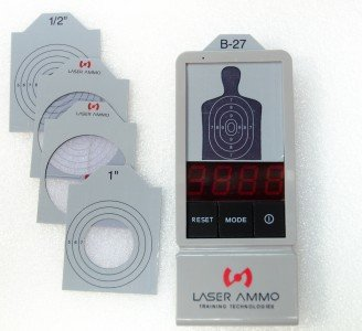 The LaserPET is a well-made training tool and comes with several challenging target shapes and sizes.