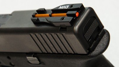 The Glock TJ Sight is an unconventional but extremely well-made sight.