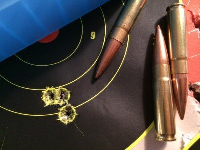 168-grain Sierra MatchKings also performed very well.