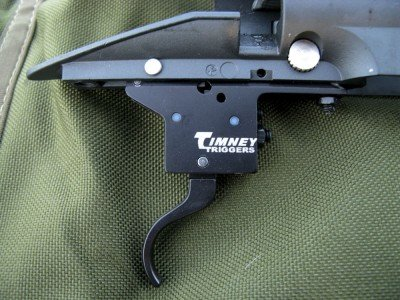 The Timney Model 70 trigger used on the MMR.  Timney makes excellent, field ready triggers that  are easily adjustable by the shooter or their gunsmith.