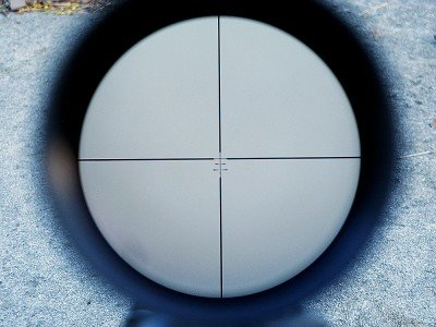This is the Boone and Crockett reticle that was installed in the Leupold VX-3L.