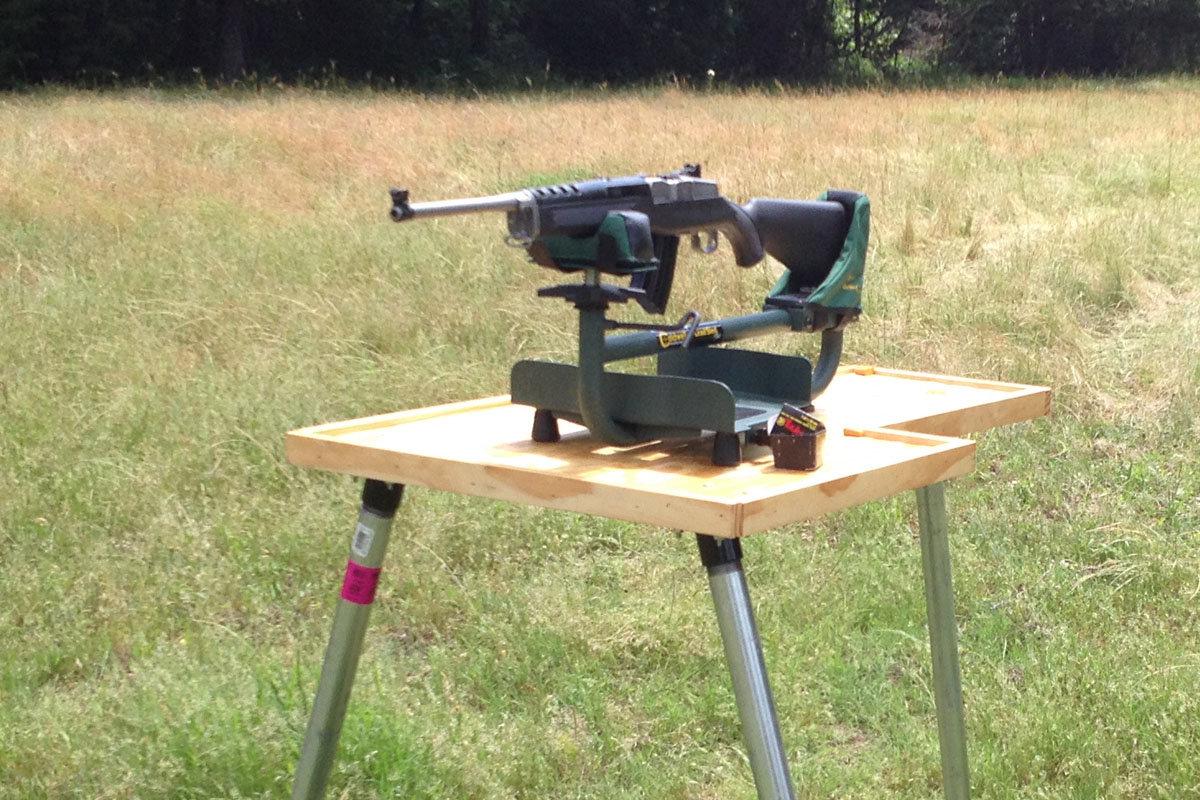 Diy Shooting Bench For Under 100 Gunsamerica Digest