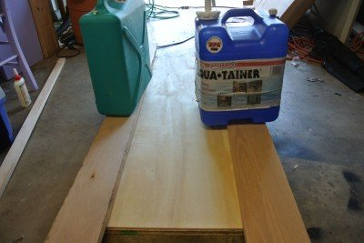 How to Build A Shooting Bench Step 2