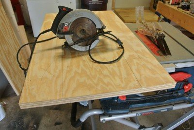 How to Build A Shooting Bench Step 4