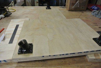 How to Build A Shooting Bench Step 7