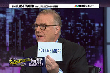 John Feinblatt, the president of Everytown for Gun Safety, appears on MSNBC to discuss the 'Not One More' campaign spawned in the wake of the spree killing in Isla Vista, California.  (Photo: Everytown)