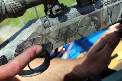 With the trigger that breaks at 2 pounds, it is even more important to keep that finger off the trigger until you are ready to fire.