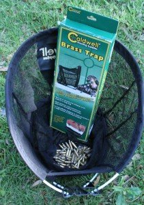 The Caldwell Brass Trap doubles as a trashcan when you leave the range.