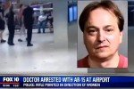 Arizona Doctor points AR-15 At airport patrons